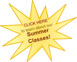 Click here to learn more about our summer classes